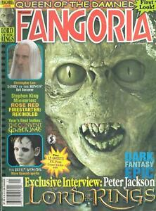 FANGORIA MAGAZINE #209 LORD of the RINGS, STEPHEN KING MINISERIES, THE CONVENT