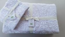 Pottery Barn Kiley Washed Floral Cotton Quilt King Cal King W/ 1 Euro Sham #3423