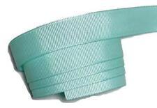 "5 yards Aqua blue 5/8"" grosgrain ribbon by the yard Diy hair bows"