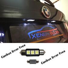 * 2PC 3 SMD LED 39MM 239 272 Blanco Matrícula CANBUS BMW E90 E60 E39 E53 E70