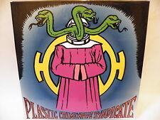 Plastic Crimewave Syndicate LP - LTD Edition (300 copies) Multi Coloured vinyl