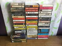 61 x Music Cassettes - Opera, Classical, Musicals, Audiobooks, Rock, Pop Job Lot