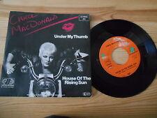 "7"" Pop Carol MacDonald - Under My Thumb / House Of The Rising Sun JUPITER  Promo"