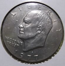 Eisenhower Dollar Coin 1977D Ike Copper Nickel Cald Circulated 279