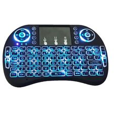 BACKLIT i8+ Mini Wireless Keyboard Mouse Keypad Remote Touchpad Android TV BOX