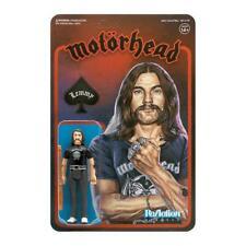 Motorhead Lemmy Ian Fraser Kilmister Super7 Reaction Figure Heavy Metal Band
