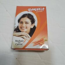 Rangeela Multani Mitty Face Mask with Carrot ,acne and pimple removal natural