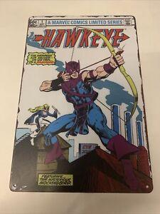 marvel legends avengers endgame hawkeye Tin Sign Comics Poster Figure Toy