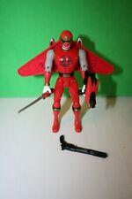 Bandai Power Rangers Ninja Storm Red Wind Ninja Flash Action Figure 2002