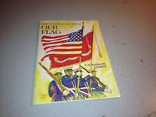 1968 How To Respect and Display Our Flag US Marine Corps Booklet