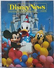 RARE SUMMER 1984 DISNEY NEWS MAGAZINE DONALD DUCK 50TH BIRTHDAY GUIDED TOURS
