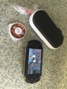 Sony PSP Handheld Console (Fully Working) With Memory Card 2 Games Case