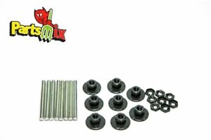 FITS 1968 Dodge Coronet Tail Light Housing Mounting Nuts Studs Washers Kit