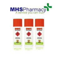 3 X Ben's Insect Repellent Maximum 30% Deet 100 Europe Strength 100ml Spray
