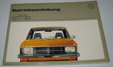 Betriebsanleitung VW K70 / K 70 Bedienungsanleitung Handbuch Stand August 1971!