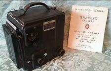 Graflex RB Series B Medium Format Camera w/Kodak Ektar f4.5 127mm Lens w/Manual