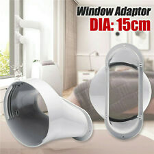 Fenster Adapter für Mobil Klimagerät Abluftschlauch Klimaanlagen PVC 150mm / 6''