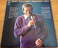 Andy Williams Greatest Hits 1970 UK LP Record Vinyl Original Pressing