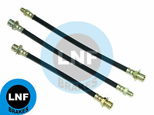 BUICK 40 SPECIAL 40A Sport Coupe BRAKE HOSE SET X3 FRONT REAR 39 41 1939 1941