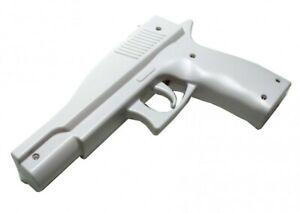 Wii - Aufsatz: Light Gun / Pistole / Blaster / Rifle #weiß [versch. Hersteller]