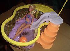 Barbie doll swimming pool and umbrella 2005