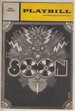 "Peter Allen & Richard Gere  ""Soon""  FLOP  Playbill  Broadway  1971  Nell Carter"