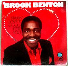 Brook Benton Makin' Love Is Good for You 1977 Olde World Recs R&B SOUL Sealed LP