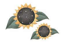 Sunflowers Debbie Mumm Yellow Sun Flower 25 Wallies Wall Border Stickers Decals
