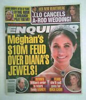 National Enquirer magazine June 15 2020 Meghan Dianas Jewels J Lo Rush Limbaugh