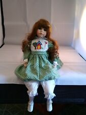 *TIMELESS MOMENTS PARADISE GALLERIES PREMIERE EDITION PORCELAIN DOLL COURTNEY