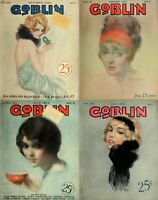 89 OLD ISSUES OF THE GOBLIN - HUMOR LAUGHTER NAUGHTY FUNNY JOKE MAGAZINE ON DVD