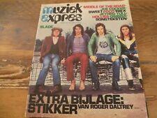 Muziek Expres 1972: Slade/The Sweet/Joe Cocker/MOTR/Supersister/T.Rex/Shocking B