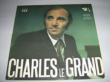 AZNAVOUR 33 TOURS GERMANY CHARLES LE GRAND
