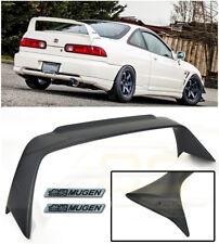Mugen Style Rear Lid Wing Spoiler Black Emblem Pair For 94-01 Acura Integra Dc2 (Fits: Acura Integra)