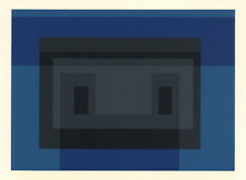 Josef Albers silkscreen, 1968  567678678