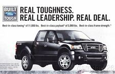 "2007/08 Ford F-150 ""Real Toughness Real Leadership"" info card"