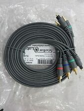 Stellar Labs 12' 3 Rca to Toslink Audio Slv Series 24-9554 New Lot of 2