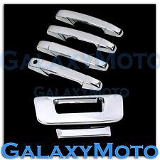 07-13 Chevy Silverado Chrome 4 Door Handle+Tailgate no Keyhole no Camera Cover