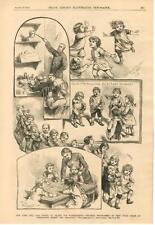 The School of Trades for Workingmen's Children - New York   - 1883