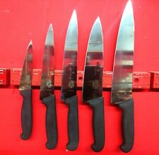A lot of 5 Chef Knives Victorinox Complet set Hi Swiss Quality Steel
