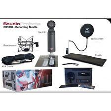 Studio Projects CS-1000 Recording Bundle CS1 Pop Filter OFC Cable Bundle