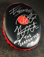 """KHABIB NURMAGOMEDOV"" SIGNED/AUTO'D PUNCHING PAD! (UFC!) CLAY GUIDA/ WERDUM!🔥🔥"