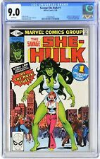 E211 SAVAGE SHE-HULK #1 Marvel CGC 9.0 VF/NM (1980) Origin & 1st App of SHE-HULK