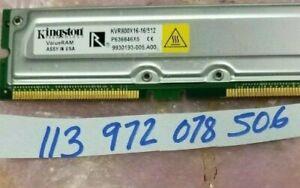 512MB PC800 800MHz non-ECC 184-Pin RDRAM RIMM Memory Module  DUAL RANK 32X8
