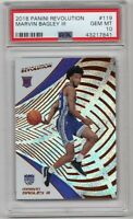 2018-19 Panini Revolution #119 Kings Rookie RC Marvin Bagley III PSA 10 Gem Mint