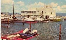 Puerto Porto Rico Ponce - Yacht Club old chrome postcard