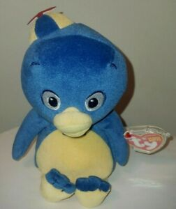 Ty Beanie Baby - PABLO (BACKYARDIGANS Plush Penguin)(6 Inch) MINT with MINT TAGS