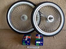 BICYCLE 16''-68 SPOKES RIM SET WITH TIRES, TUBES & LINERS FOR SCHWINN,LOW RIDER