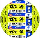45 feet NEW same day shipping 12/2 W/GROUND ROMEX INDOOR ELECTRICAL WIRE YELLOW