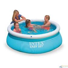 Schwimmbad Rotunde Aufblasbar Park Außerhalb Erdfarbe INTEX EASY SET 28101